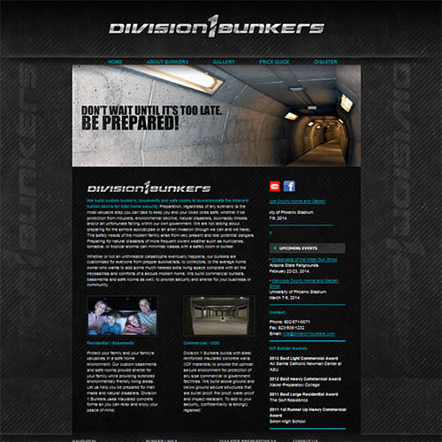 Division 1 Bunkers